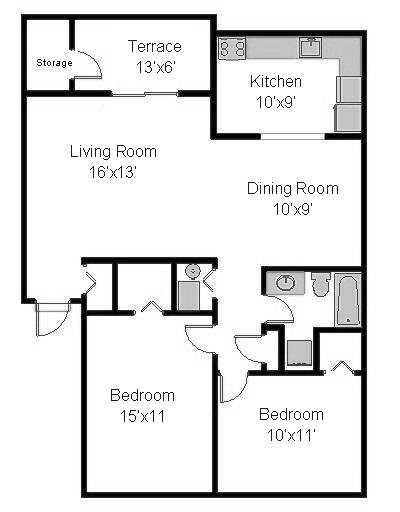 Cumberland Court 2 Bedrooms
