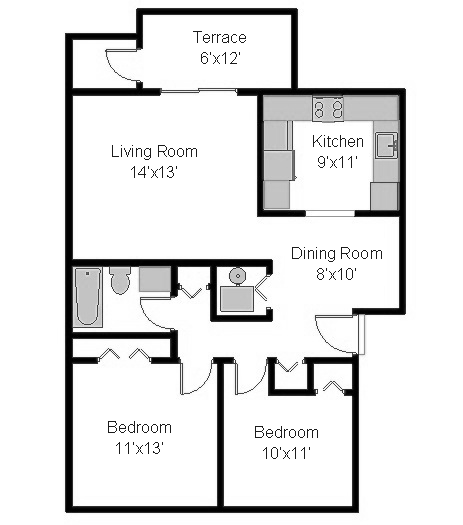 Cumberland Apartments: Cumberland Court - SunnyHill Properties