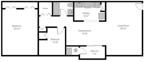 Coldbrook Meadows 2 Bedrooms